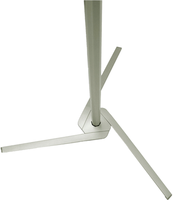 Pole System is a bannersystem with integrated foot and rod, which makes it easy to move the system.