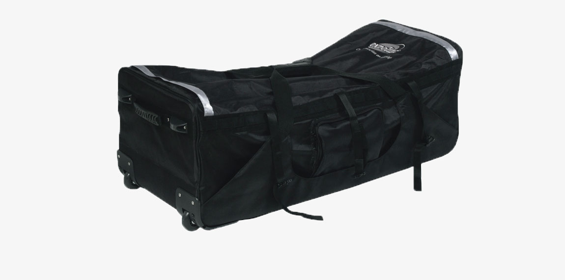 Multibag with wheels for easy transport.