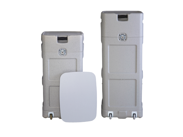 A robust case with steel wheel housing and durable locks.